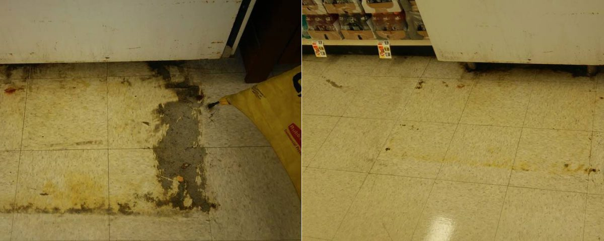 Store Floor Stripping Waxing H2h Facility Services